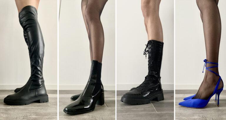 Scarpe invernali per una ragazza alta