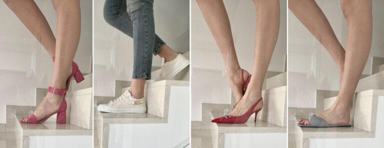 Le scarpe primaverili per una ragazza tall